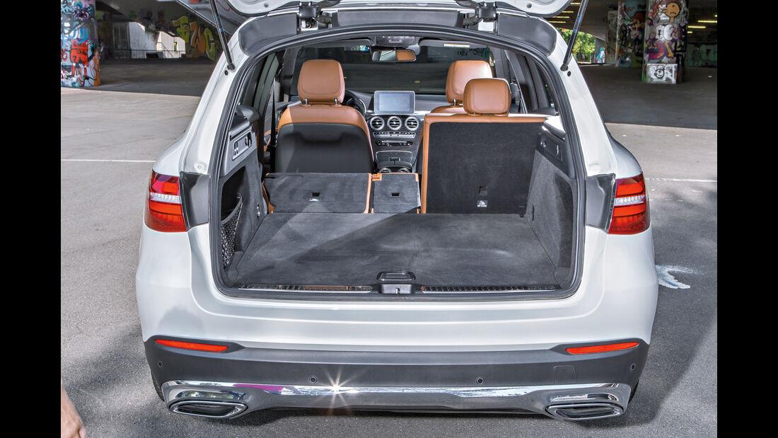 Mercedes GLC 250 d, Kofferraum
