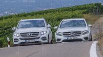Mercedes GLC 250 d, Mercedes GLE 250 d, Frontansicht