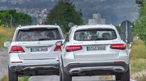Mercedes GLC 250 d, Mercedes GLE 250 d, Heckansicht
