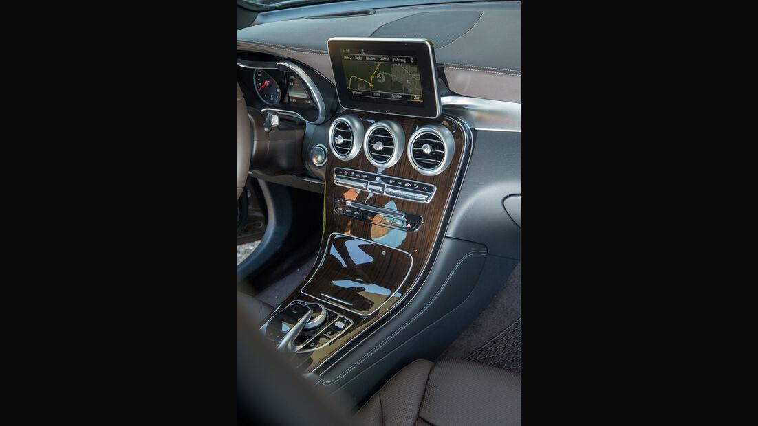 Mercedes GLC 250d 4Matic - Fahrbericht - Kompakt-SUV - Mittelkonsole