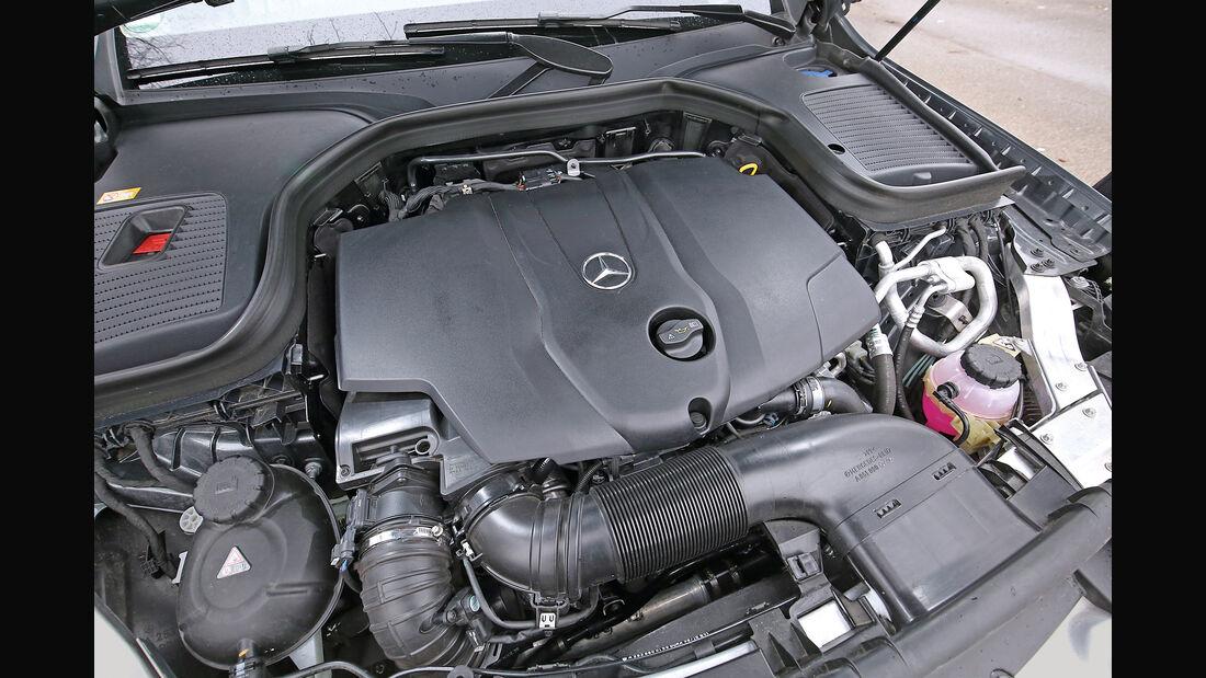 Mercedes GLC 250d 4Matic, Motor