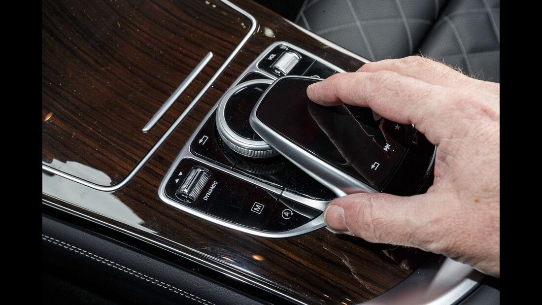 Mercedes GLC 300 4Matic Coupé, Bedienelement