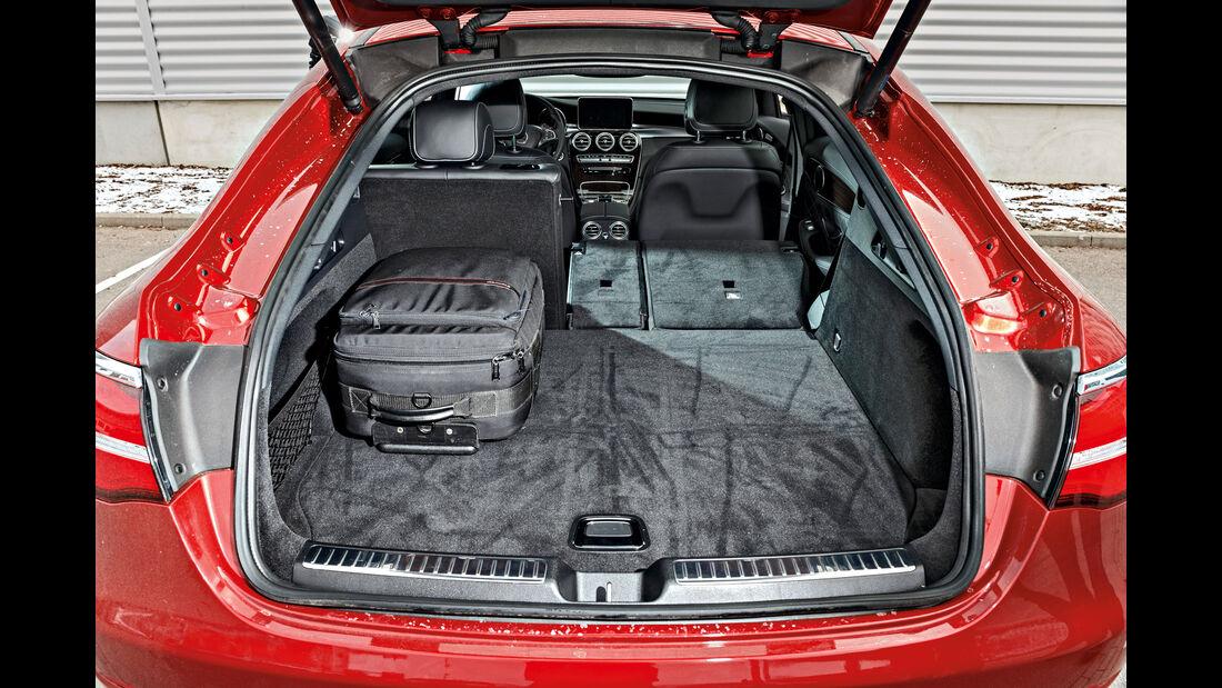 Mercedes GLC 300 4Matic Coupé, Kofferraum