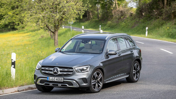 Mercedes GLC 300 4Matic, Exterieur