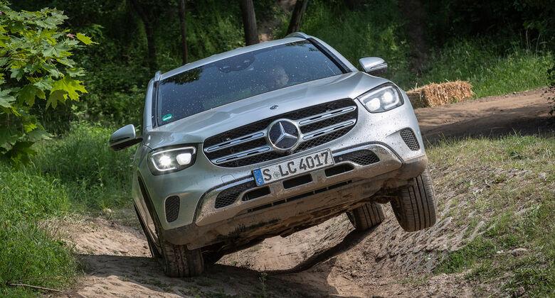 Mercedes GLC 300 4Matic, Exterieur