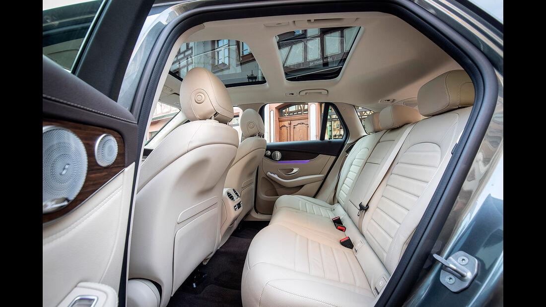 Mercedes GLC 300 4Matic, Interieur