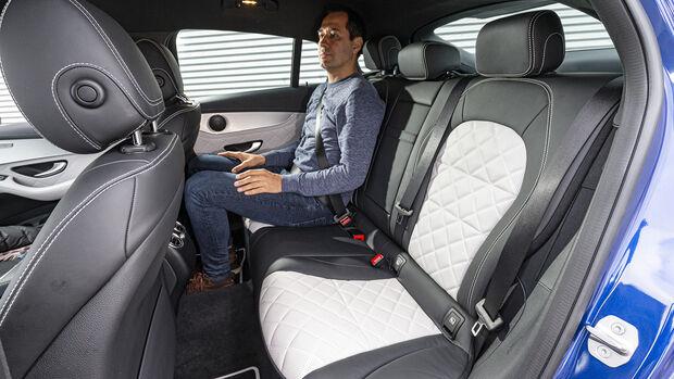 Mercedes GLC 300 Coupé, Interieur