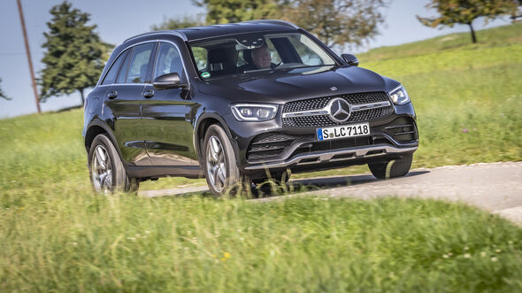 Mercedes GLC 300 d 4Matic, Exterieur