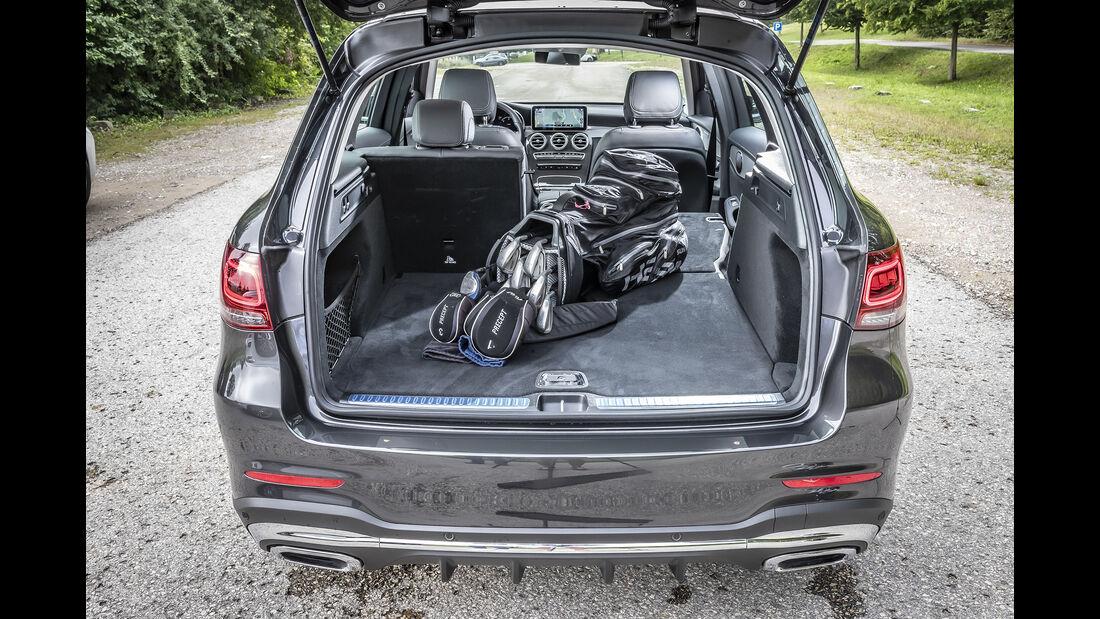 Mercedes GLC 300 d 4Matic, Kofferraum