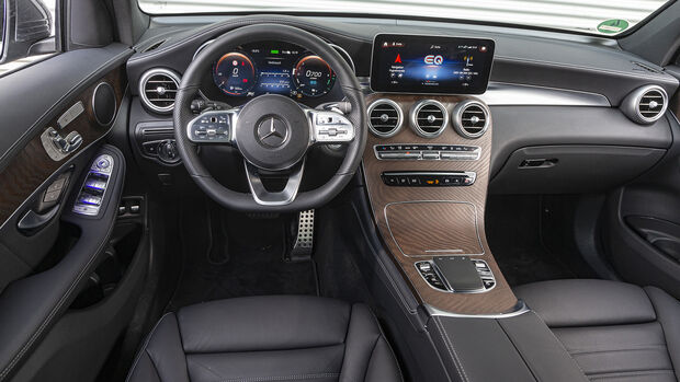 Mercedes GLC 300 e 4Matic, Interieur