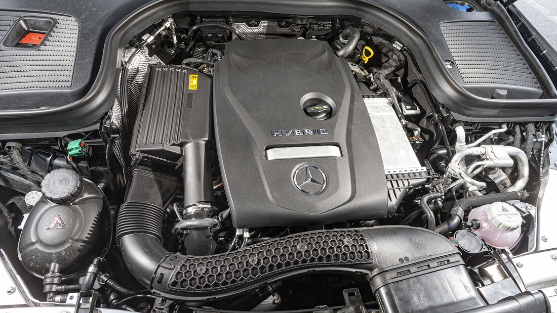 Mercedes GLC 300 e 4Matic, Motorraum