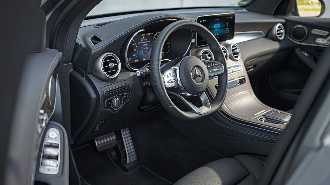 Mercedes GLC 300e, Interieur