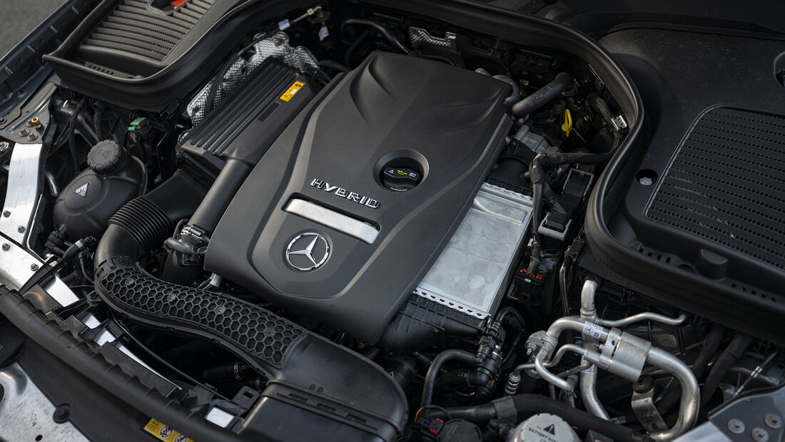 Mercedes GLC 300e, Motor