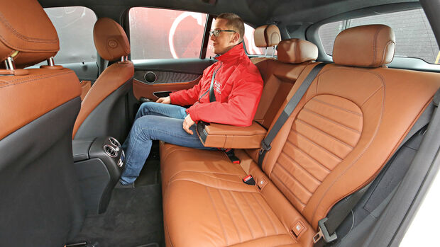 Mercedes GLC 350 e 4Matic, Fondsitze
