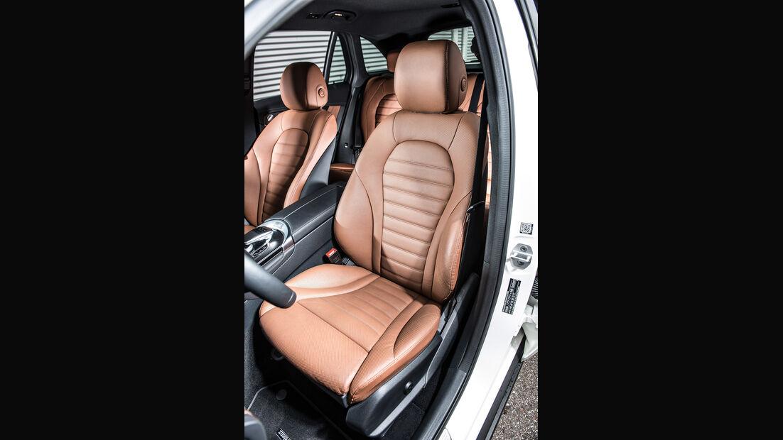 Mercedes GLC 350 e, Fahrersitz