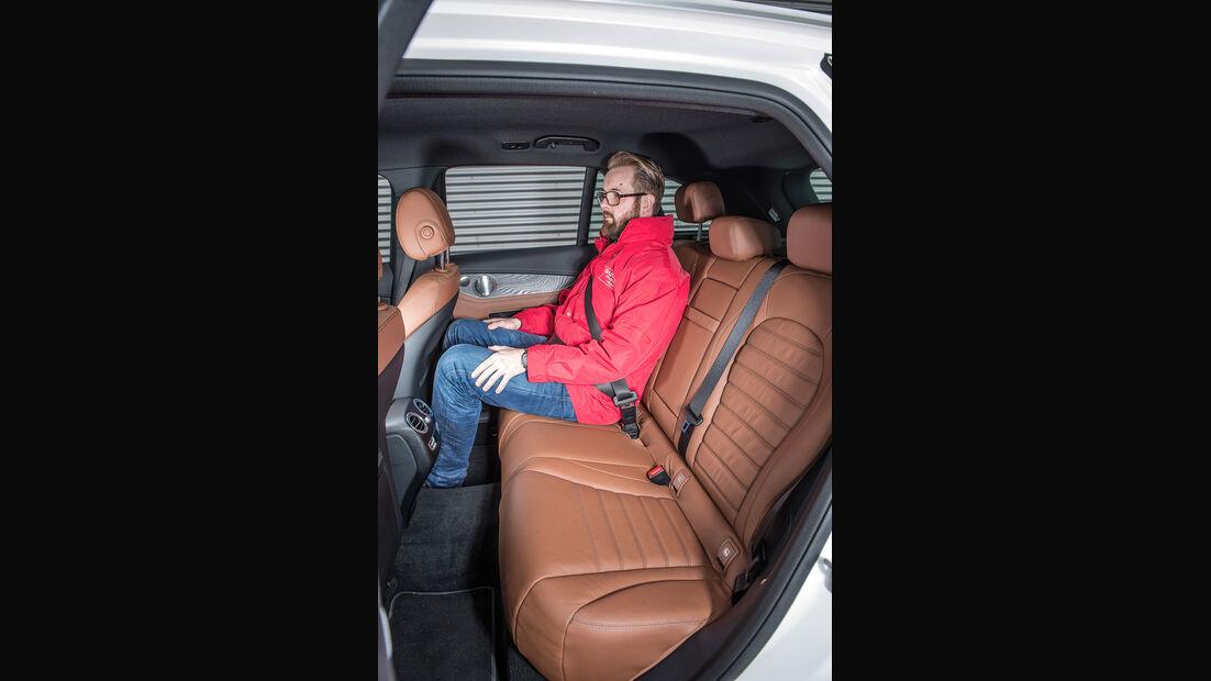 Mercedes GLC 350 e, Fondsitze