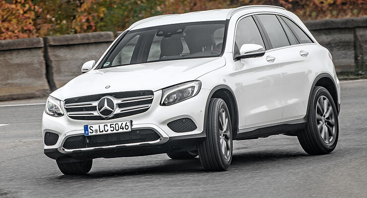 Mercedes GLC 350 e, Frontansicht