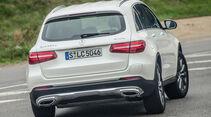 Mercedes GLC 350 e, Heckansicht