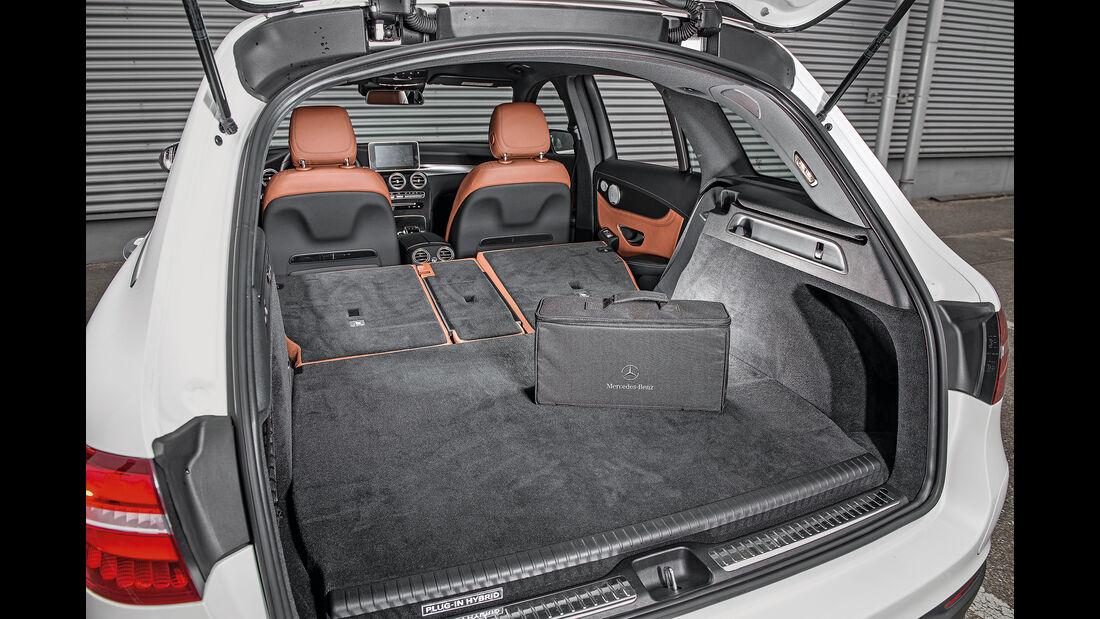 Mercedes GLC 350 e, Kofferraum