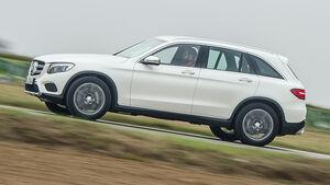 Mercedes GLC 350 e, Seitenansicht