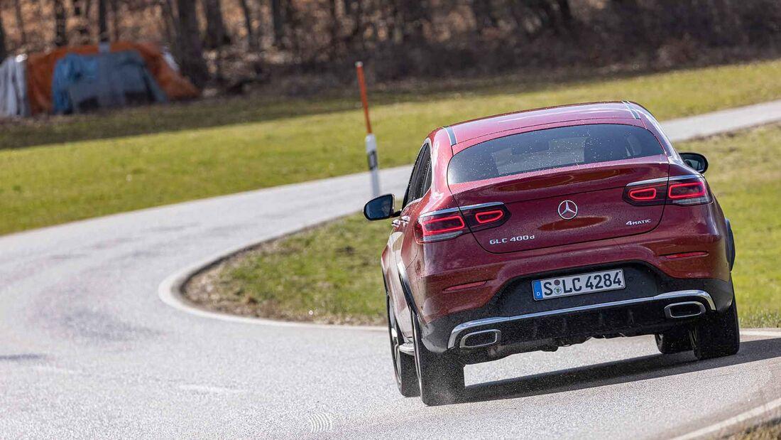 Mercedes GLC 400 d Coupé