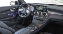 Mercedes GLC 400 d, Interieur