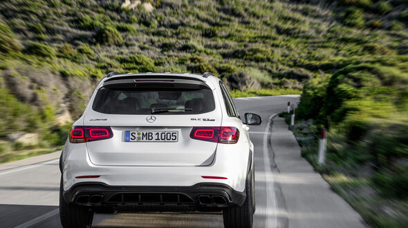 Mercedes GLC 63 4MATIC CoupŽ Facelift 2019
