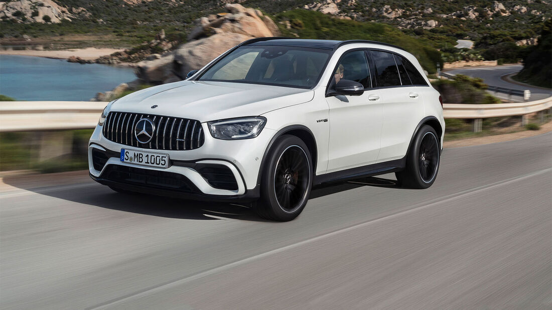 Mercedes GLC 63 4MATIC Facelift 2019
