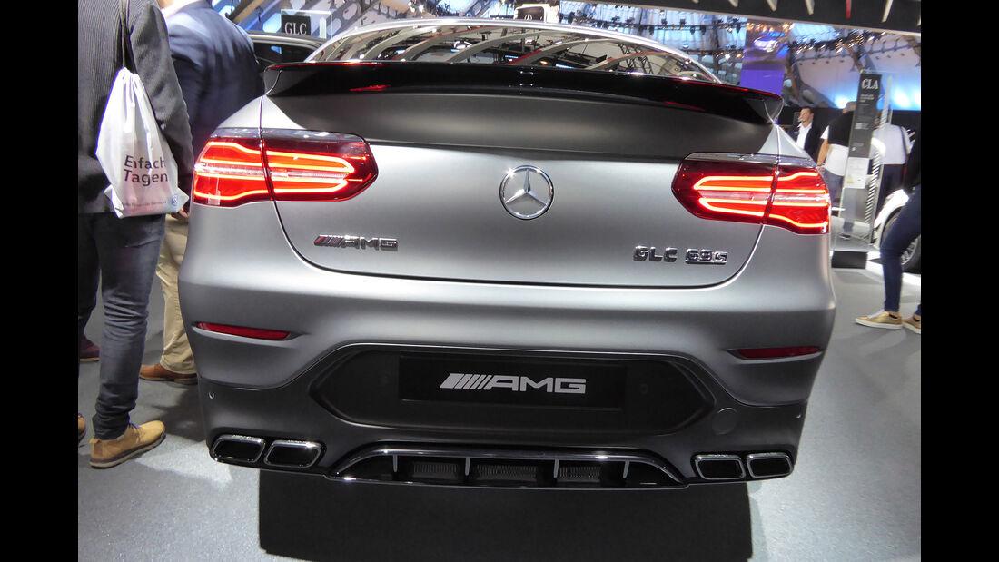 Mercedes GLC AMG 63S - Auspuff - IAA Frankfurt 2017