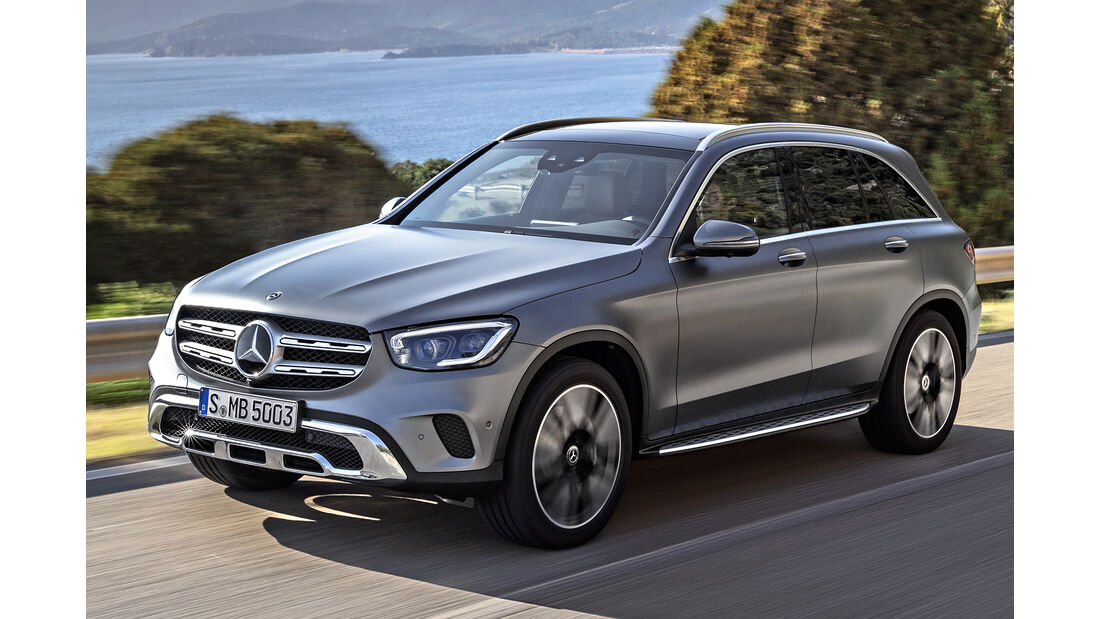 Mercedes GLC, Best Cars 2020, Kategorie K Große SUV/Geländewagen