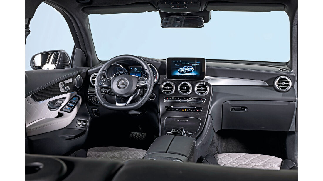 Mercedes GLC, Cockpit