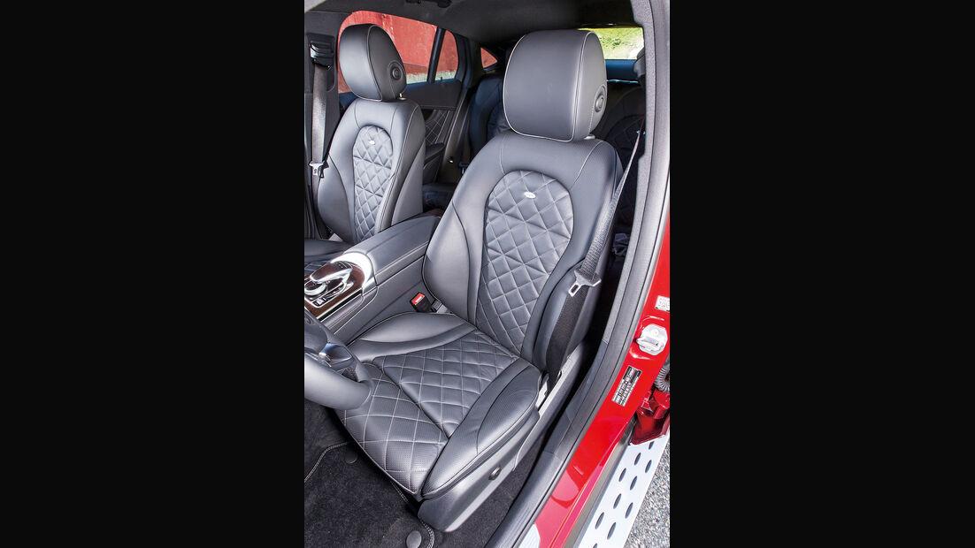 Mercedes GLC Coupé, Fahrersitz