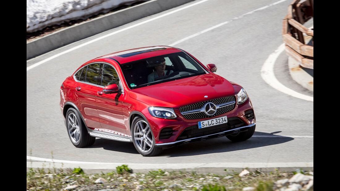 Mercedes GLC Coupé, Frontansicht