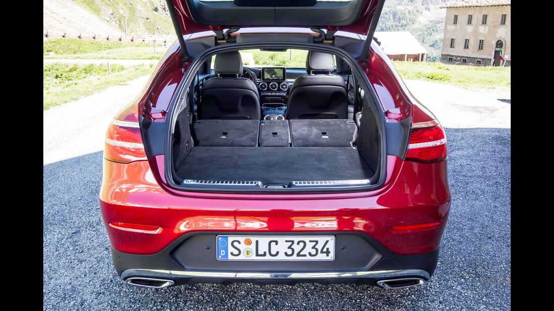 Mercedes GLC Coupé, Kofferraum