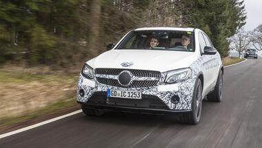 Mercedes GLC Coupé, Mitfahrt
