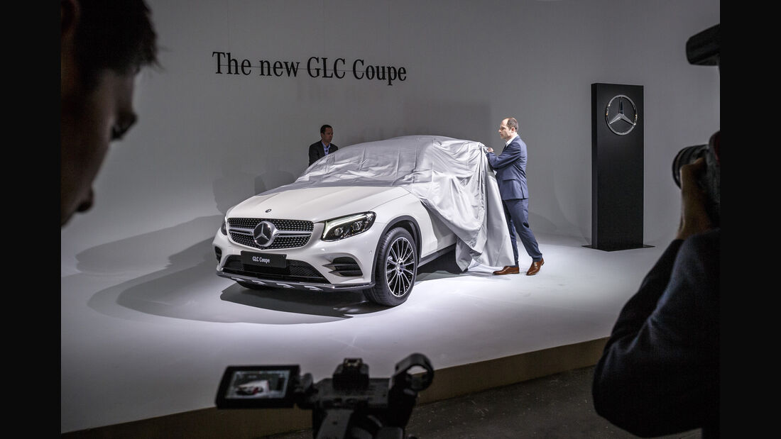 Mercedes GLC Coupé, New York Auto Show 2016, Messe
