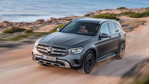 Mercedes GLC Facelift 2019 Sperrfrist 28.2.
