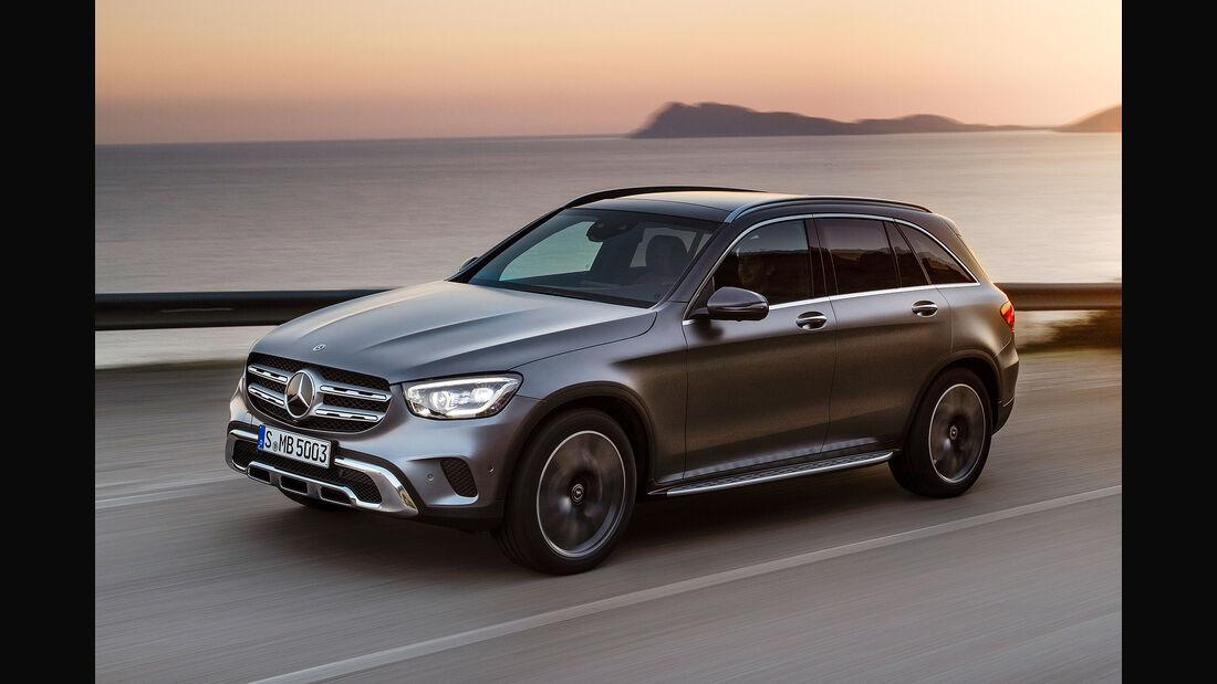 Mercedes GLC Facelift 2019 Sperrfrist 28.2.