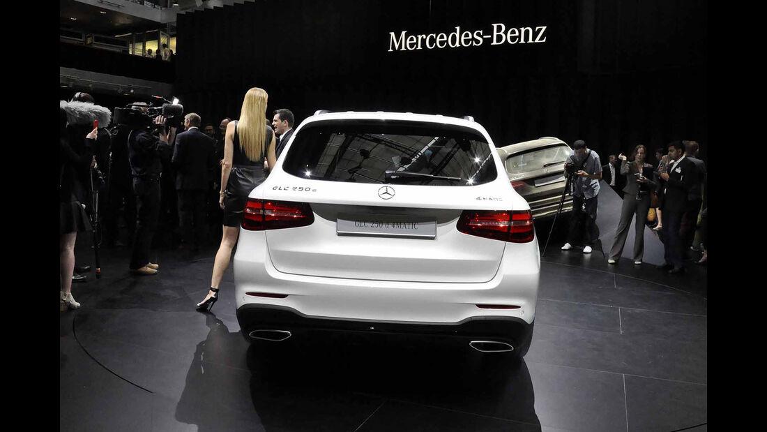Mercedes GLC Heck