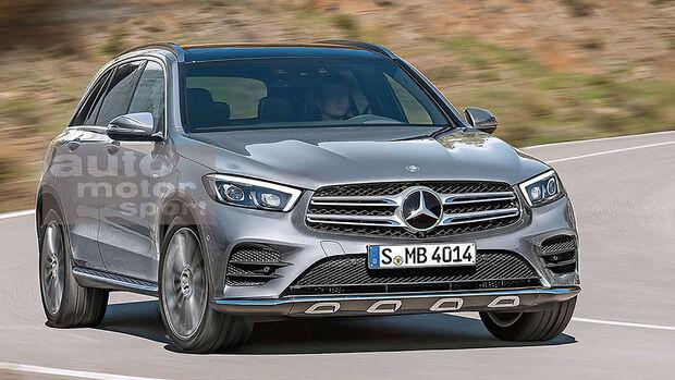 Mercedes GLC Retusche Schulte