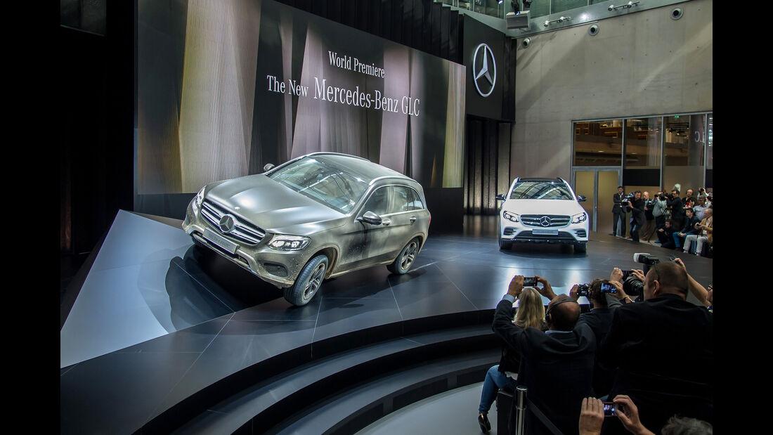 Mercedes GLC Weltpremiere