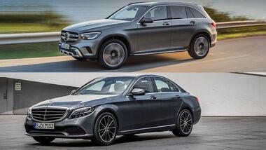 Mercedes GLC und C-Klasse