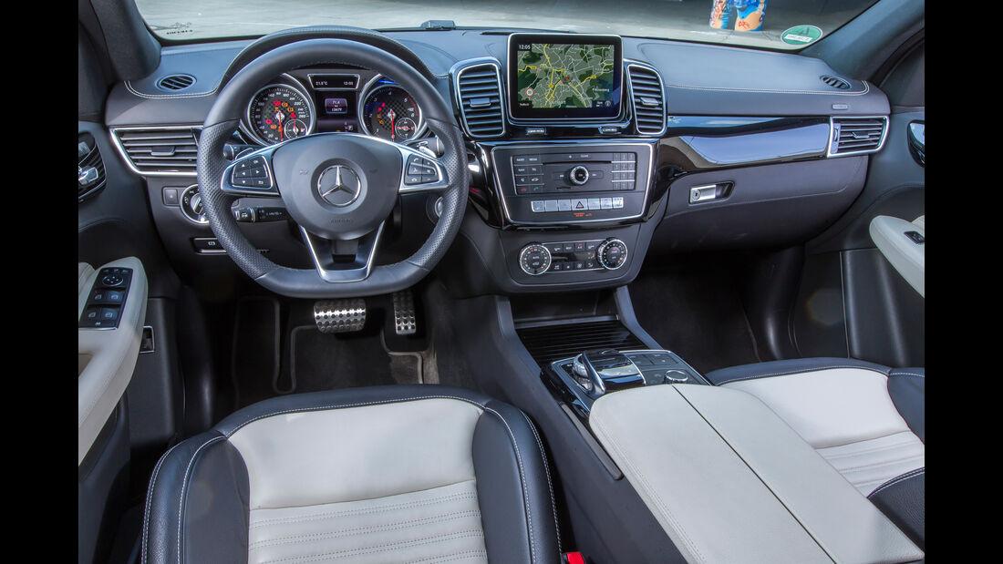 Mercedes GLE 250 d, Cockpit