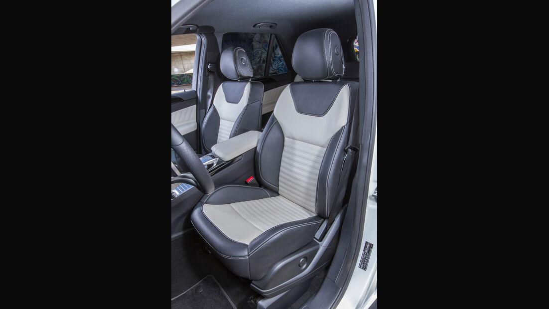 Mercedes GLE 250 d, Fahrersitz