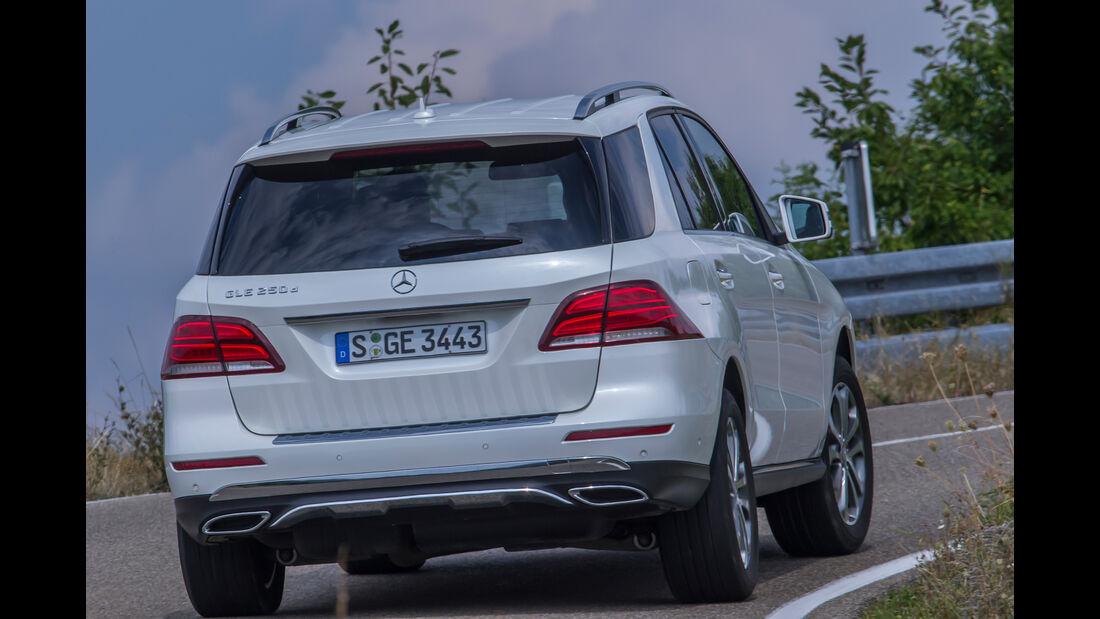 Mercedes GLE 250 d, Heckansicht