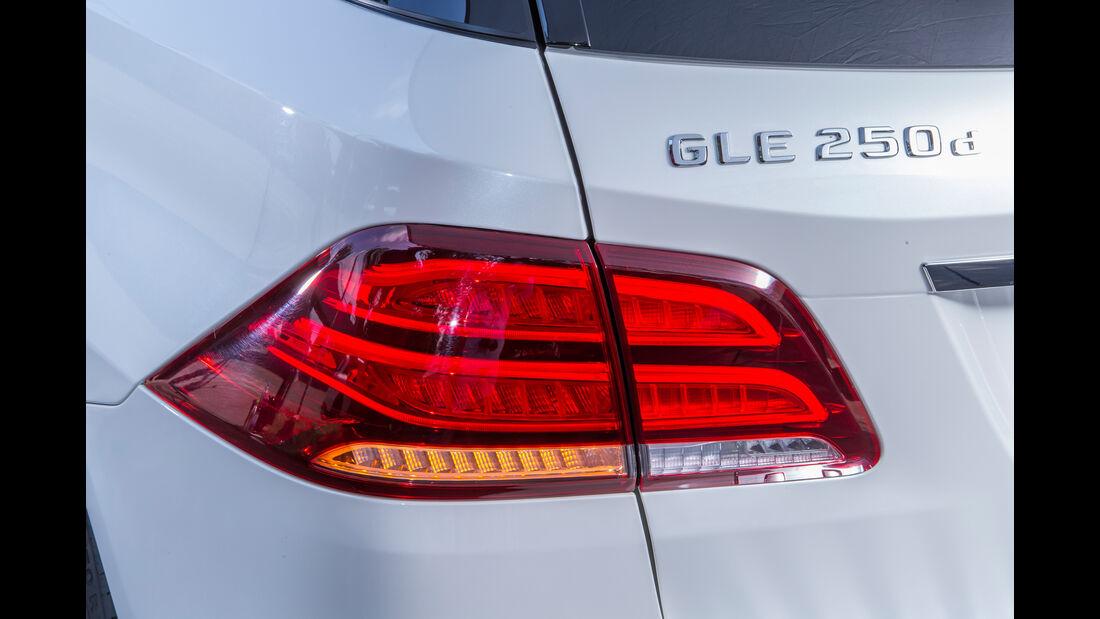 Mercedes GLE 250 d, Heckleuchte