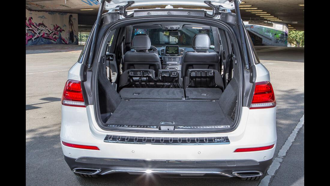 Mercedes GLE 250 d, Kofferraum