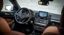 Mercedes GLE 350 d 4Matic Coupé, Innenraum, Cockpit