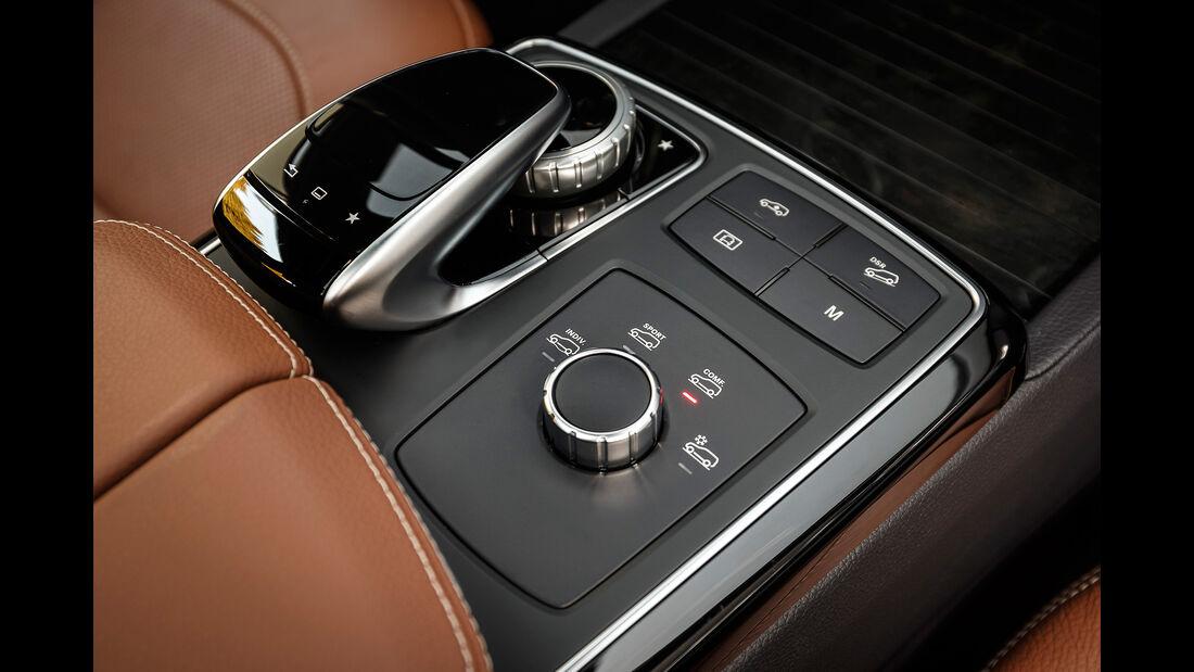 Mercedes GLE 350 d 4Matic Coupé, Mittelkonsole