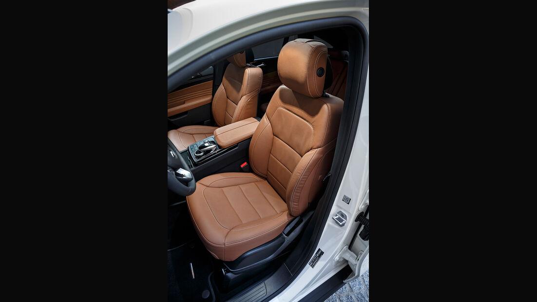 Mercedes GLE 350 d 4Matic Coupé, Sitze